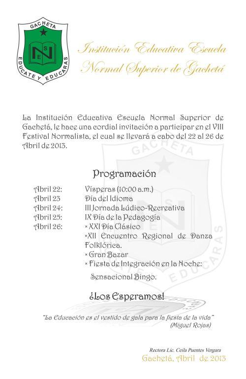 ESCUELA GACHETA INVITACION ULTIMO